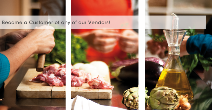 Become a customer of any of our Vendors